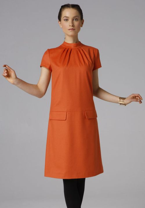 Burda 508C - orange with sleeves