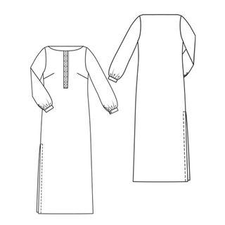 Long sleeved maxi dress style 131 - jan 2010