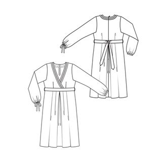 Empire waist dress style135plus - jan2010