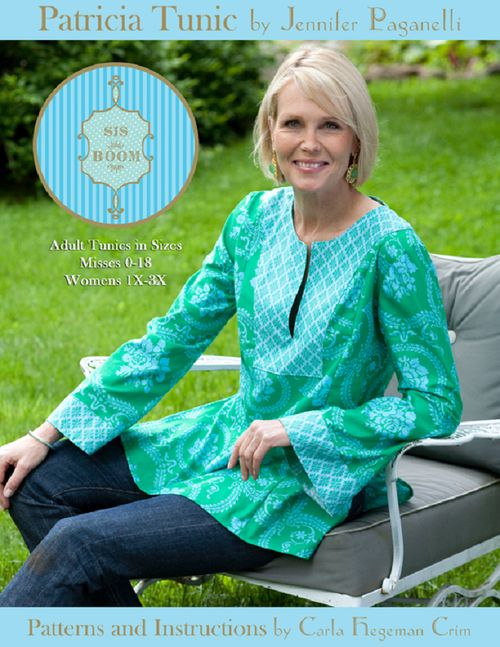 Sisboom patricia tunic at sew baby