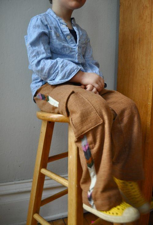 Elsie marley cargo trousers